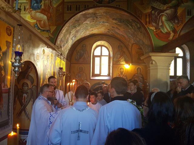 Manastir Žitomislić proslavio svoju slavu Blagovijesti