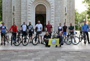 Biciklima iz Trebinja krenuli u Solun