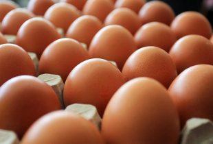Držite jaja na dnu frižidera