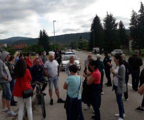 Nastavak protesta u Drvaru