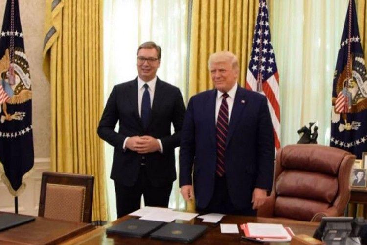 Vučić: Odličan sastanak sa predsednikom Trampom – Top Portal